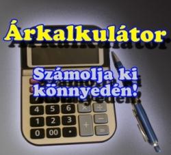Árkalkulátor